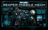 Just Cause 3 - Reaper Missile Mech cover art