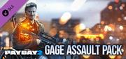 PAYDAY 2: Gage Assault Pack cover art