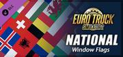 Euro Truck Simulator 2 - National Window Flags cover art