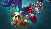 Alterac Brew Pup and Enchanted Fey Dragon cover art