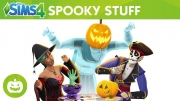 The Sims 4 Spooky Stuff cover art
