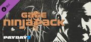PAYDAY 2: Gage Ninja Pack cover art