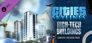 Cities: Skylines - Content Creator Pack: High-Tech Buildings cover art