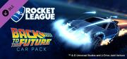 Rocket League - Back to the Future Car Pack cover art