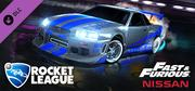 Rocket League – Fast & Furious '99 Nissan Skyline GT-R R34 cover art