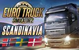 Euro Truck Simulator 2: Scandinavia DLC cover art