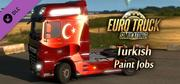 Euro Truck Simulator 2 - Turkish Paint Jobs Pack cover art