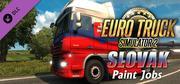 Euro Truck Simulator 2 - Slovak Paint Jobs Pack cover art