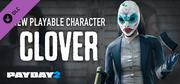 PAYDAY 2: Clover Character Pack cover art