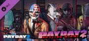 PAYDAY 2: Hotline Miami cover art