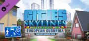 Cities: Skylines - Content Creator Pack: European Suburbia cover art