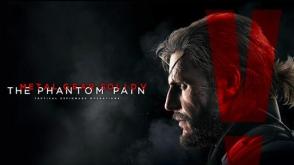 Metal Gear Solid V: The Phantom Pain cover art