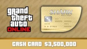 GTA Online: Whale Shark Cash Card cover art