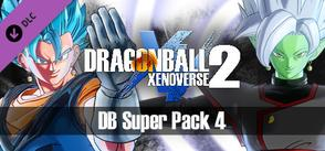 DRAGON BALL XENOVERSE 2 - DB Super Pack 4 cover art