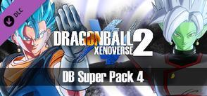 DRAGON BALL XENOVERSE 2 - DB Super Pack 4 cover art
