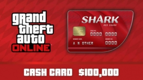 GTA Online: Red Shark Cash Card cover art