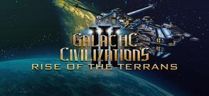 GALACTIC CIVILIZATIONS III - RISE OF THE TERRANS DLC cover art